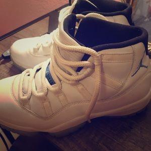 Legend Blue Jordan's